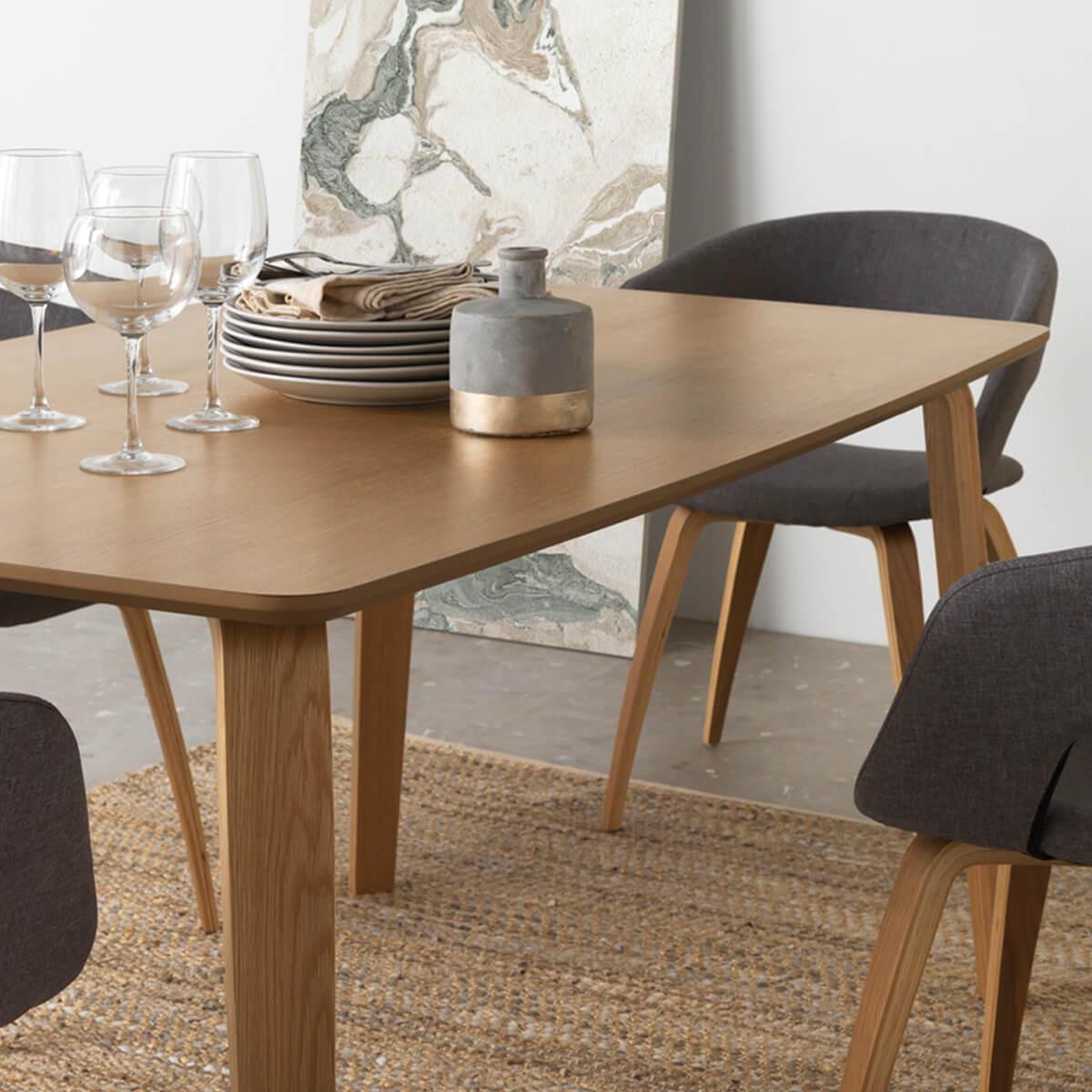 Mesa madera nórdica 150cm - Comprar muebles nórdicos