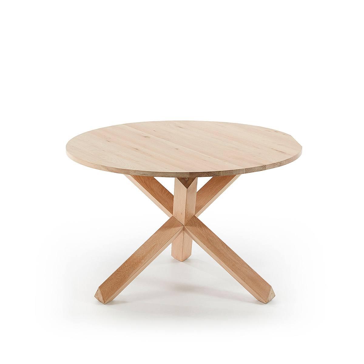 Mesa comedor redonda roble - Artikalia - Comprar mesas de ...