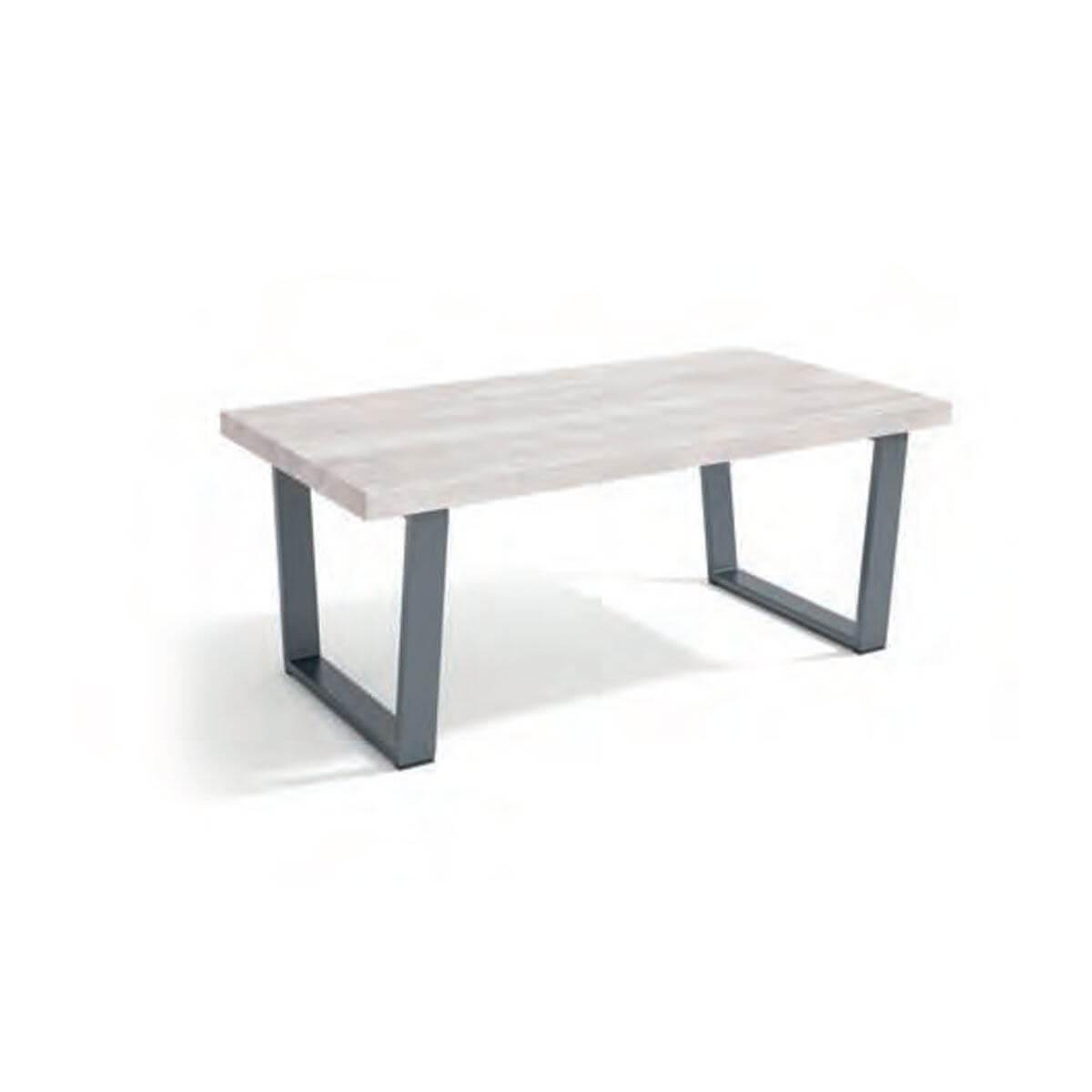 Mesa de centro industrial 110cm. Comprar mesas de centro ...