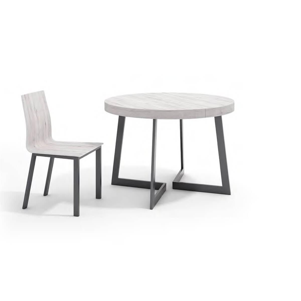 Mesa redonda extensible 110 - 60cm. Compra mesas exensibles