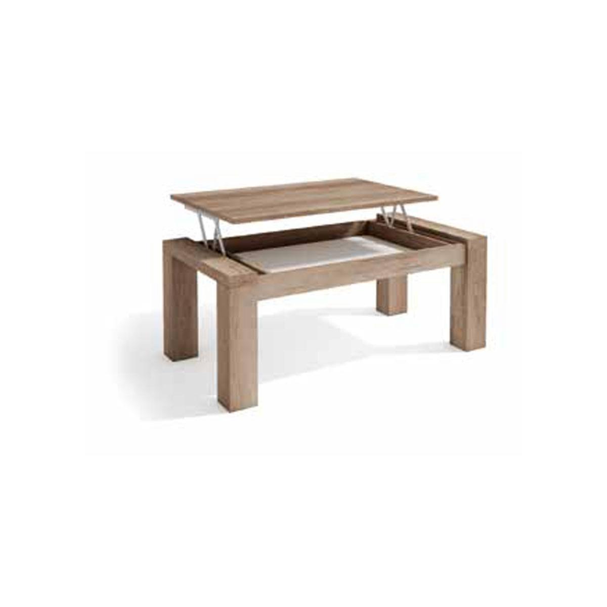 Mesa de centro elevable 110cm. Comprar mesas elevables