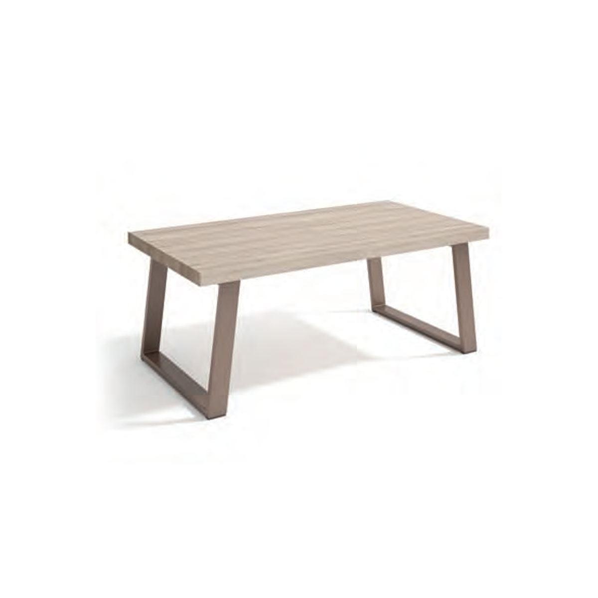 Mesa de centro rectangular estilo industrial. Comprar mesas ...