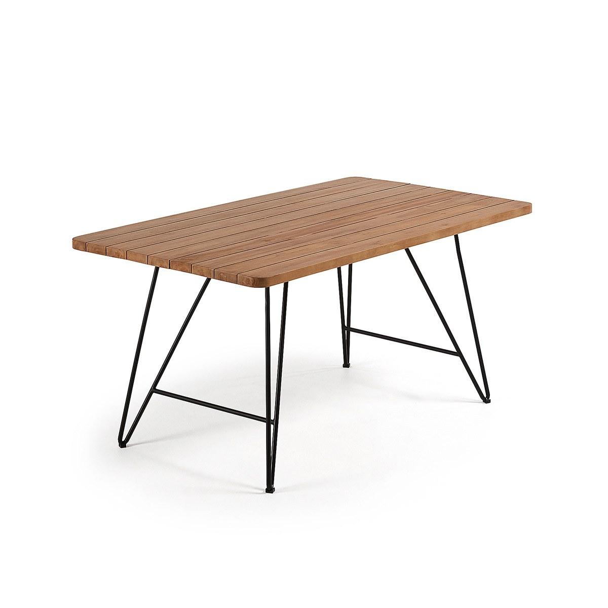 Mesa comedor madera maciza - Artikalia - Mesas de comedor