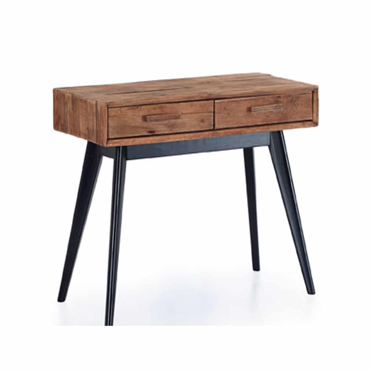 Consola de pino reciclado - Artikalia - Muebles de diseño