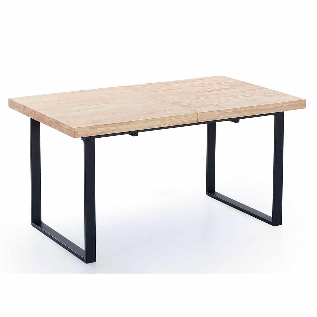 Mesa extensible roble acero - Artikalia - Muebles de diseño