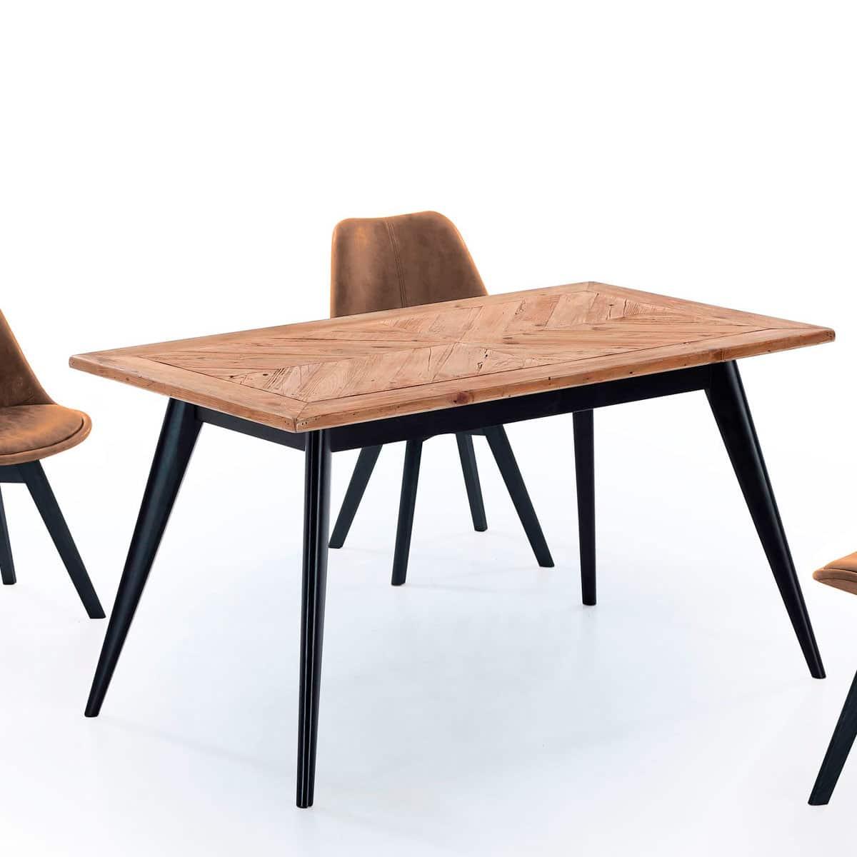Mesa comedor pino reciclado - Artikalia - Muebles de diseño