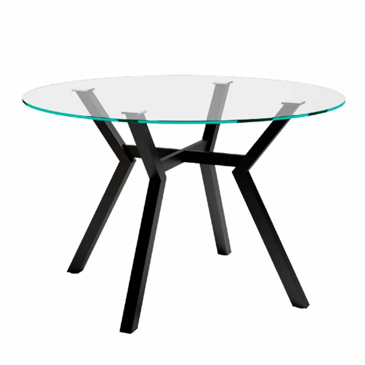 Mesa comedor redonda metal - Artikalia - Muebles de diseño